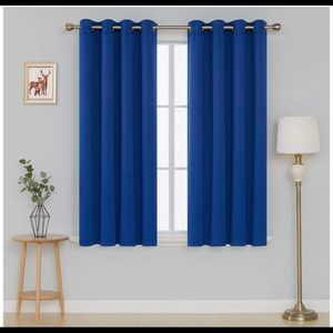 Blackout Curtains 52W x 84L Inch Royal Blue